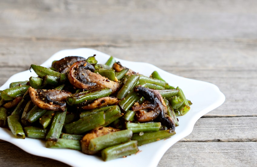 Plate of Greenbeans
