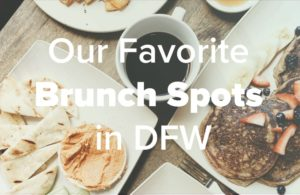 Brunch background with text