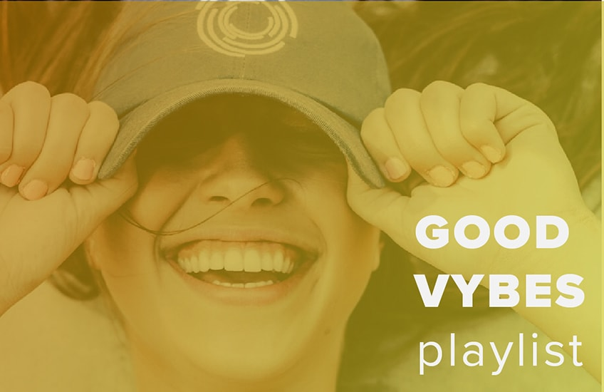Good Vybes Playlist Graphic