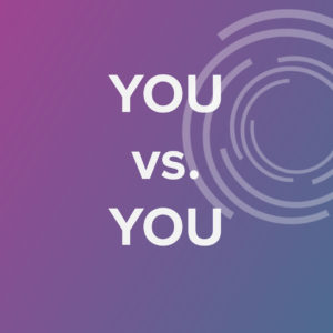 You v.s You Playlist Cover Graphic
