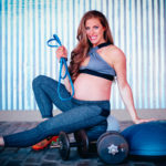 Fitness Woman Pregnant Training Dallas Dobecka
